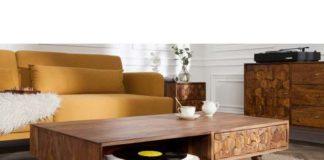 Nowoczesne stoliki do salonu