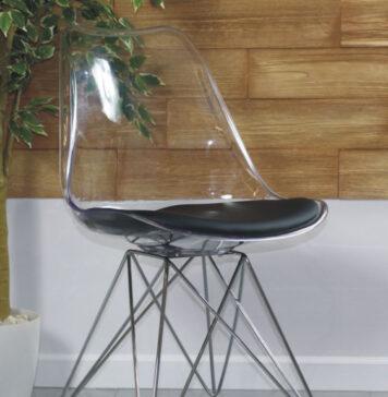 Krzesła transparentne